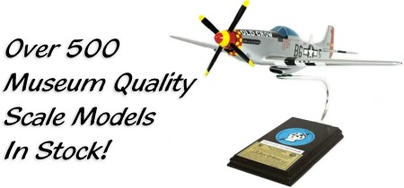 Over 500 Museum Quality Scale Model Aircraft