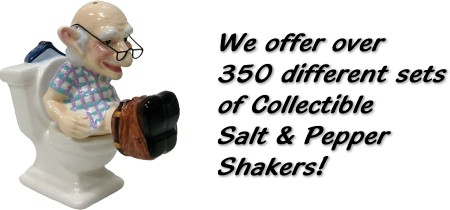 Over 400 Collectible Salt And Pepper Shakers In Stock